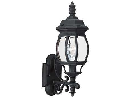 Sea Gull Lighting Wynfield Black Outdoor Wall Light SGL8820012