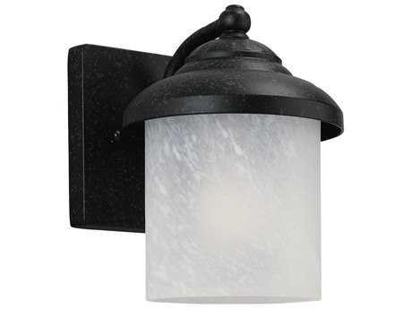 Sea Gull Lighting Yorktown Forged Iron Outdoor Wall Light SGL84048185
