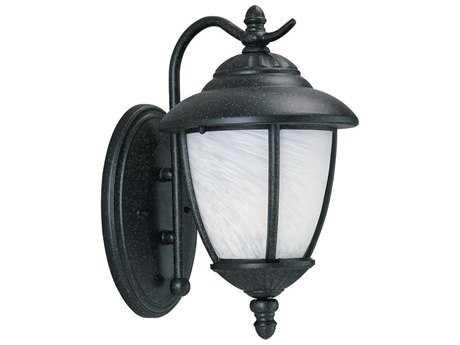 Sea Gull Lighting Yorktown Forged Iron Outdoor Wall Light SGL84049185