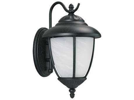 Sea Gull Lighting Yorktown Forged Iron Outdoor Wall Light SGL84050185