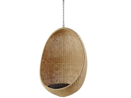 Sika Design Icon Natural Wicker Cushion Swing