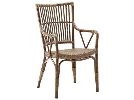 Sika Design Exterio Macaccino Aluminum Wicker Dining Chair