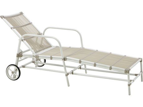 Sika Design Exterio Aluminum Wicker Chaise Lounge