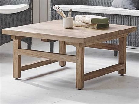 Sika Indoor Teak 31'' Wide Square Coffee Table SKA9468D