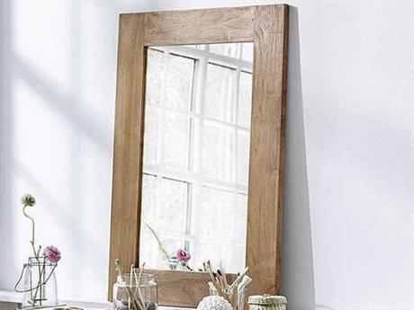 Sika Indoor Teak Wall Mirror