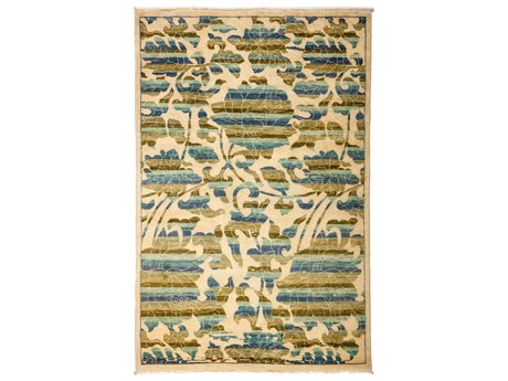 Solo Rugs Arts & Crafts Multi 4'2'' x 6'2'' Rectangular Area Rug SOLM1825201