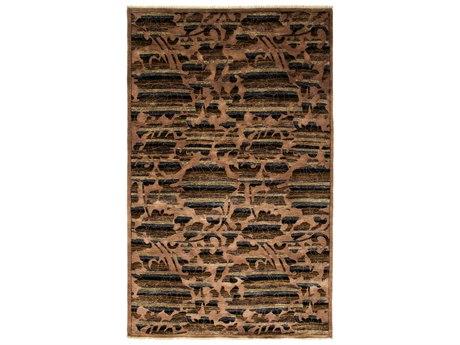 Solo Rugs Arts & Crafts Beige 5'2'' x 8'2'' Rectangular Area Rug