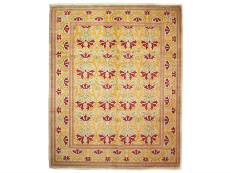 Solo Rugs Arts & Crafts Red 8'4'' x 10'2'' Rectangular Area Rug SOLM162031