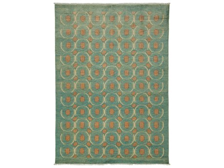 Solo Rugs Eclectic Blue 5'2'' x 7'1'' Rectangular Area Rug