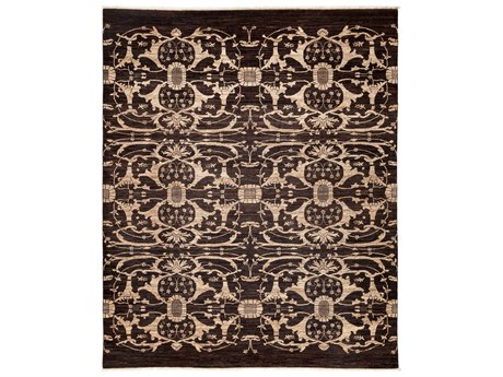 Solo Rugs Eclectic Brown 8'3'' x 10' Rectangular Area Rug