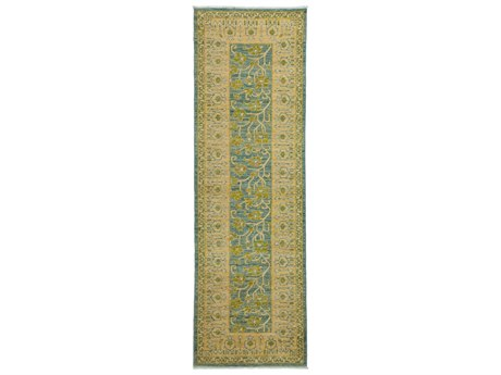 Solo Rugs Eclectic Yellow 3'3'' x 9'10'' Runner Rug