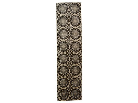 Solo Rugs Eclectic Ivory 2'7'' x 10'3'' Runner Rug