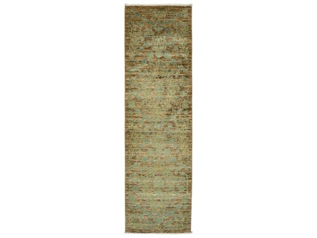 Solo Rugs Eclectic Brown 3' x 9'10'' Runner Rug