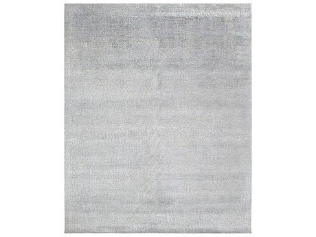 Solo Rugs Erase Light Gray 7'11'' x 10' Rectangular Area Rug