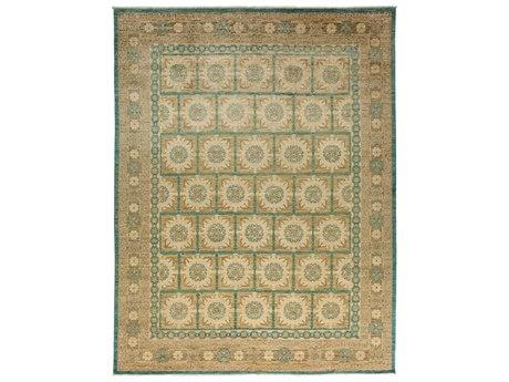 Solo Rugs Khotan Beige 9'3'' x 11'10'' Rectangular Area Rug