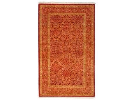 Solo Rugs Mogul Red 3'2'' x 5'2'' Rectangular Area Rug SOLM1622325