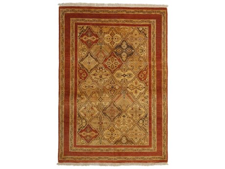 Solo Rugs Ottoman Beige 3'10'' x 5'8'' Rectangular Area Rug SOLM1478299