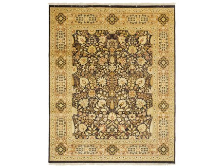 Solo Rugs Oushak Brown 8'1'' x 10'1'' Rectangular Area Rug SOLM1181567