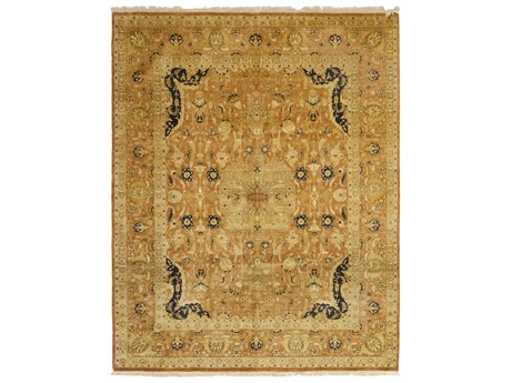 Solo Rugs Oushak Brown 8'1'' x 10' Rectangular Area Rug SOLM1182396