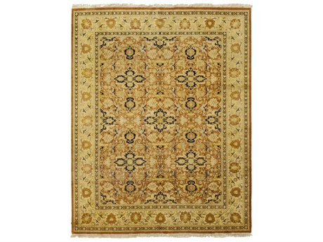 Solo Rugs Oushak Brown 8'2'' x 10'3'' Rectangular Area Rug SOLM1195178