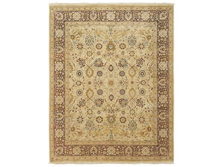 Solo Rugs Oushak Beige 8'2'' x 10'1'' Rectangular Area Rug SOLM124714