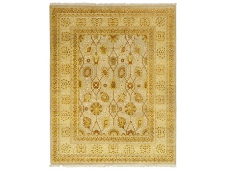 Solo Rugs Oushak Beige 8'3'' x 10'3'' Rectangular Area Rug SOLM126170