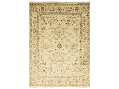 Solo Rugs Oushak Beige 8'8'' x 12'4'' Rectangular Area Rug SOLM13268