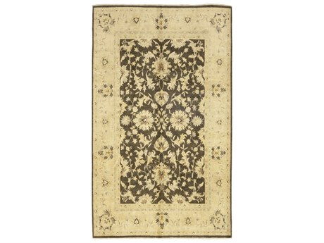 Solo Rugs Oushak Brown 8'10'' x 11'3'' Rectangular Area Rug SOLM154611