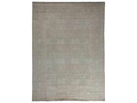 Solo Rugs Oushak Gray 9' x 12'2'' Rectangular Area Rug