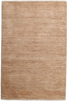 Solo Rugs Savannah Brown Rectangular Area Rug SOLM619744