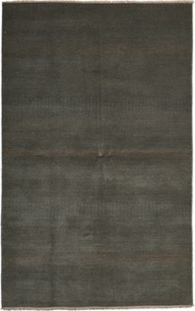 Solo Rugs Savannah Black Rectangular Area Rug SOLM63935