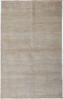 Solo Rugs Savannah Ivory Rectangular Area Rug SOLM641672