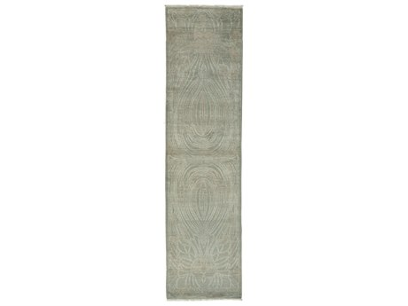 Solo Rugs Shalimar Gray 2'8'' x 10'4'' Runner Rug SOLM1796188