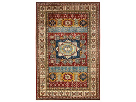 Solo Rugs Shirvan Red 6'10'' x 10'8'' Rectangular Area Rug
