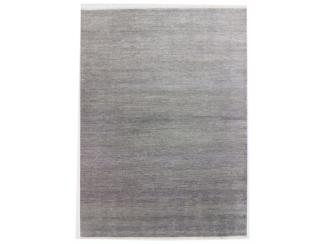 Solo Rugs Solid Gray 8'10'' x 12'2'' Rectangular Area Rug