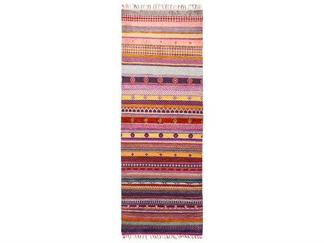 Solo Rugs Tribal Multi 3' x 8'3'' Runner Rug
