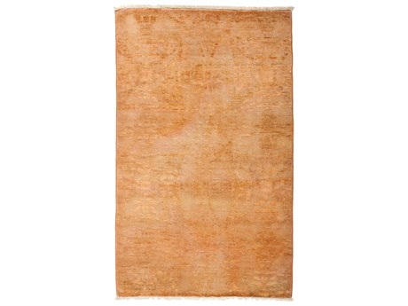 Solo Rugs Vibrance Orange Rectangular Area Rug SOLM1852102