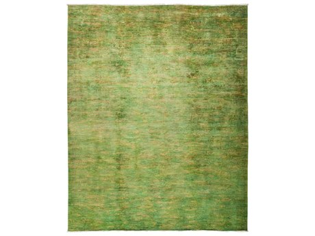 Solo Rugs Vibrance Green 8'2'' x 10'1'' Rectangular Area Rug SOLM183753