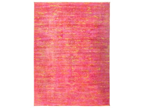 Solo Rugs Vibrance Pink 8'9'' x 11'9'' Rectangular Area Rug SOLM18529
