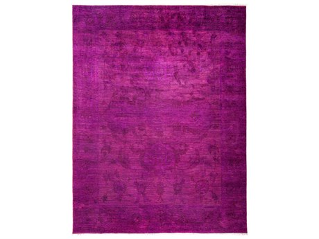 Solo Rugs Vibrance Pink 9'1'' x 11'10'' Rectangular Area Rug