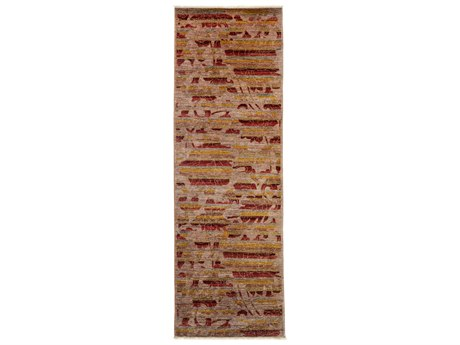 Solo Rugs Vibrance Pink 2'8'' x 7'10'' Runner Rug