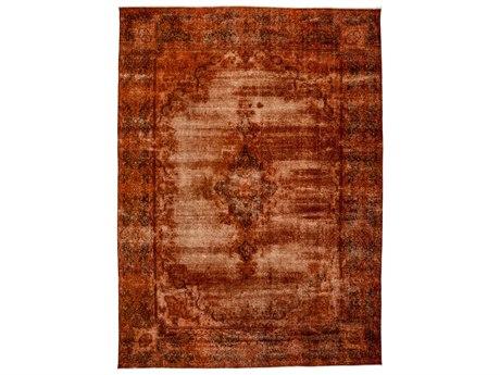 Solo Rugs Vintage Orange 9'6'' x 13'6'' Rectangular Area Rug