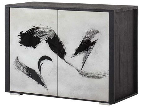 Sonder Distribution Andrew Martin Silver / Black Accent Chest RD1504038