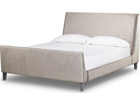 Sonder Distribution Andrew Martin Silver / Black King Panel Bed