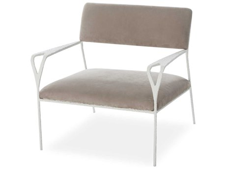 Sonder Distribution Kelly Hoppen Chalk Hammered / White Metal Accent Chair RD1402033