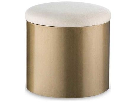 Sonder Distribution Kelly Hoppen Brushed Brass Ottoman RD1402005