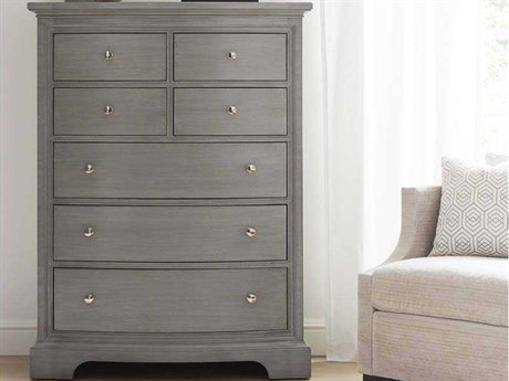 Stanley Furniture Transitional Estonian Grey Drawer Chest