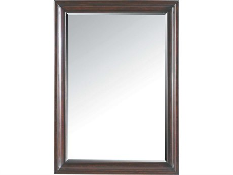 Stanley Furniture Transitional Polished Sable 48L x 35H Landscape Dresser Mirror SL0421330