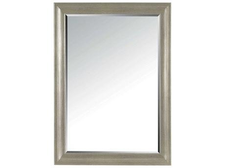 Stanley Furniture Transitional Estonian Grey 48''L x 34.5''H Rectangular Landscape Dresser Mirror