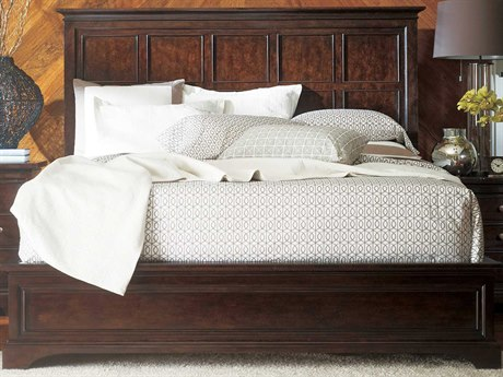 Stanley Furniture Transitional Polished Sable Queen Panel Bed SL0421340